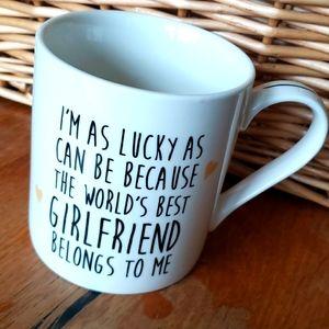 World's Best Girlfriend Coffee Cup Mug Valentine's